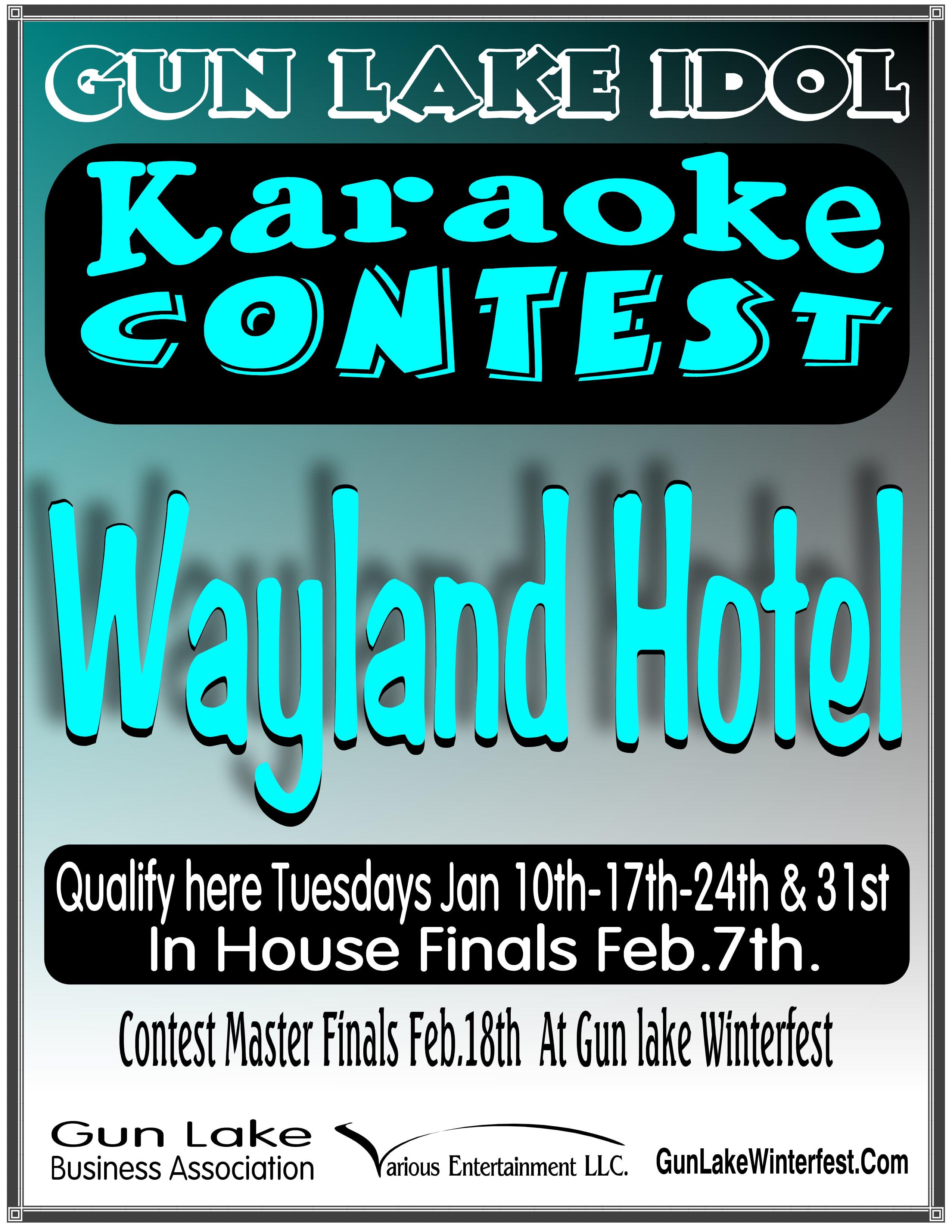 Wayland Hotel Karaoke Contest