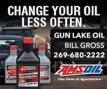 Premium protection for your Powersport and Vehicle needs. Bob Ross (269) 680-2222   www.gunlakeoil.com